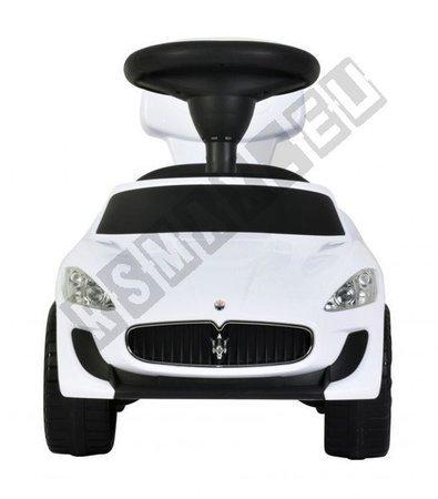 Autko jeździk chodzik pchacz Maserati biały