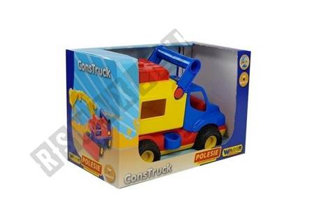 Auto ConsTruck Furgonetka Gumowe koła 44754