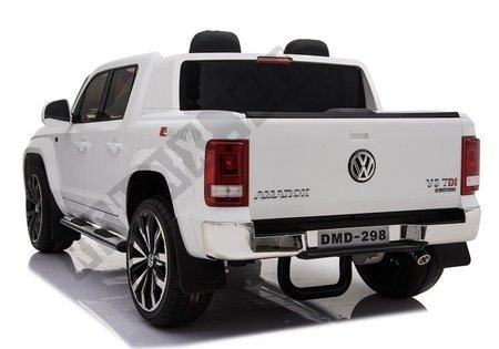 Auto Na Akumulator VW Amarok Biały Radio Koła Eva