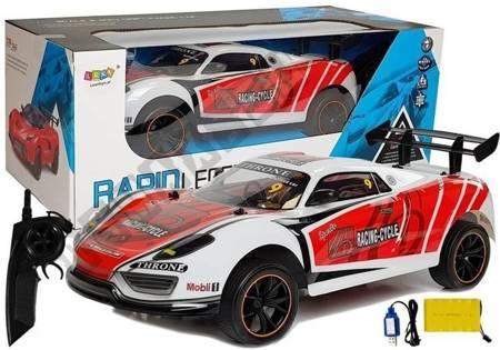 Auto Wyścigowe Zdalnie Sterowane R/C Białe