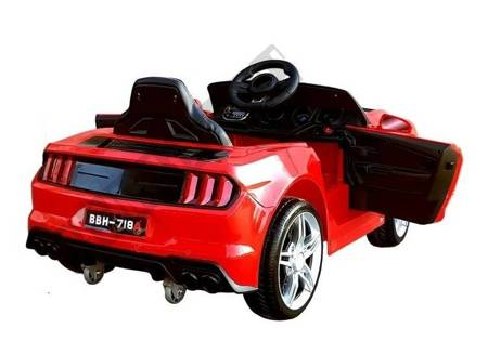 Auto na Akumulator BBH-718A Czerwone