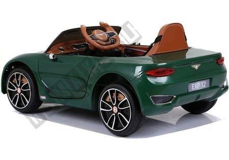Auto na Akumulator Bentley Zielony Lakierowany