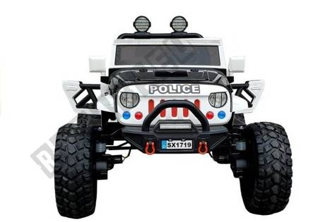 Auto na Akumulator SX1719 Policja Czarne