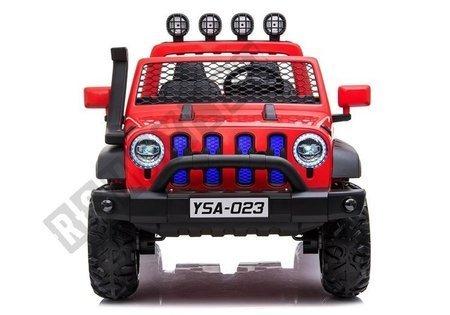 Auto na Akumulator YSA023 Czerwony