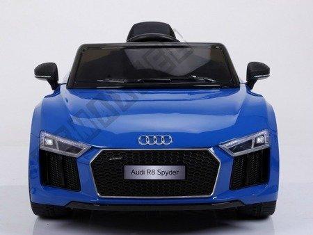 Auto na akumulator Audi R8 Spyder niebieski lakier
