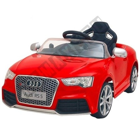 Auto na akumulator Audi RS5 czerwony