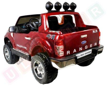Auto na akumulator Ford Ranger czerwony lakier