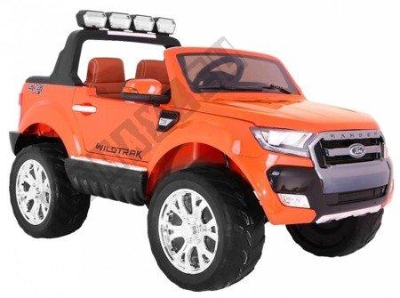 Auto na akumulator Ford Ranger pomarańczowy lakier