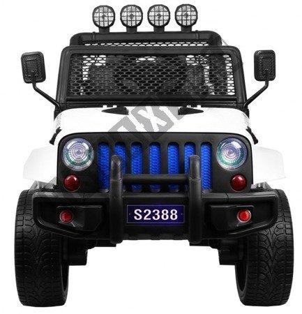 Auto na akumulator Jeep 4x4 OFF ROAD biały