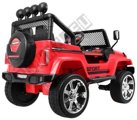 Auto na akumulator Jeep 4x4 OFF ROAD czerwony