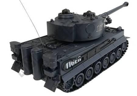 Czołg R/C 1:28 Zdalnie Sterowany Czarny z Bunkrem