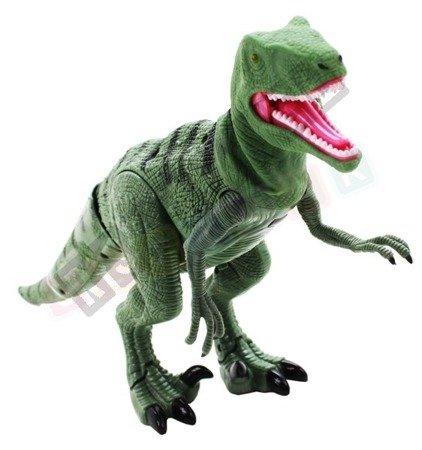Dinozaur T-REX chód ryk zdalnie sterowany zielony