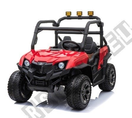 Dwuosobowe auto na akumulator Buggy czerwony !