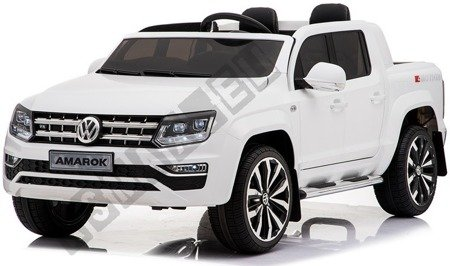 Dwuosobowe auto na akumulator VW AMAROK biały !
