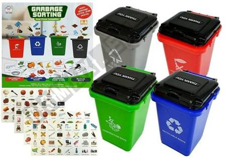 Gra Ekologiczna Sortowanie Śmieci Dbaj o Przyrodę