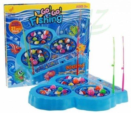 Gra zręcznościowa łowienie rybek wesołe wędkowanie