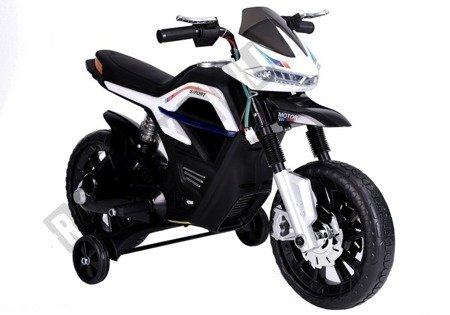 JT5158 Motocykl Na Akumulator Biały