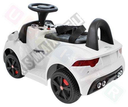 Jeździk na akumulator Jaguar F-Type biały