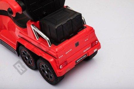 Jeździk na akumulator Mercedes G63 czerwony NEW !