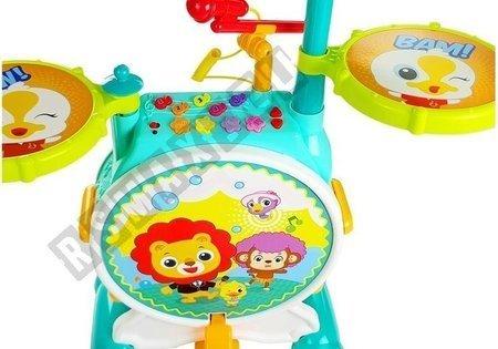 Kolorowa Perkusja Dla Malucha z Krzesełkiem