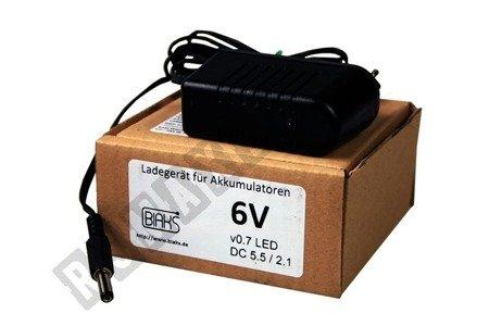 Ładowarka do pojazdów akumulatorowych 6V