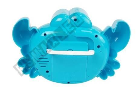 Maszyna do Baniek Mydlanych Krab Niebieski