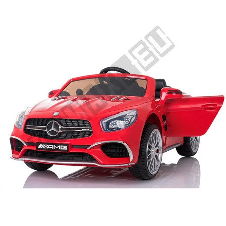 Mercedes Benz SL65 Coupe na akumulator czerwony