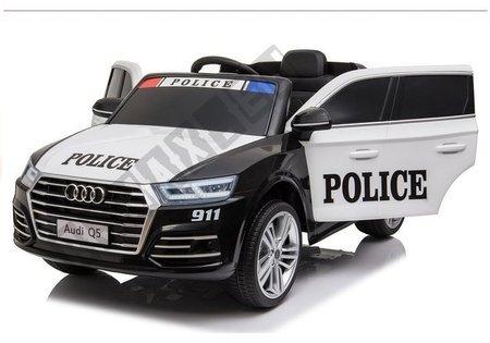 Pojazd na Akumulator Audi Q5 Policja Czarny