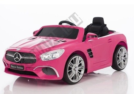 Pojazd na Akumulator Mercedes SL Różowy 8811