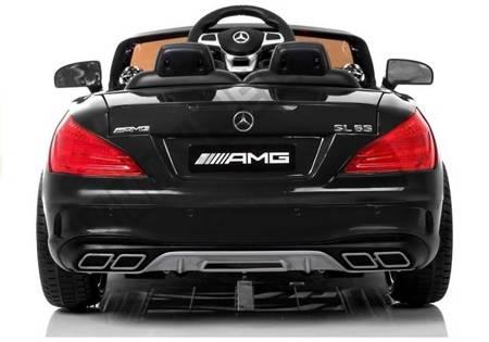 Pojazd na Akumulator Mercedes SL65 LCD Czarny
