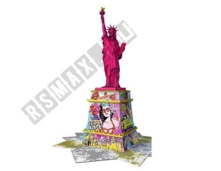 Puzzle 3D Statua Wolności POP ART EDITION 108 elem