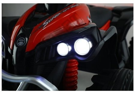 Quad Na Akumulator FB-6677 Czerwony