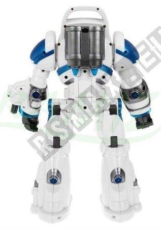Robot interaktywny zdalnie sterowany biały