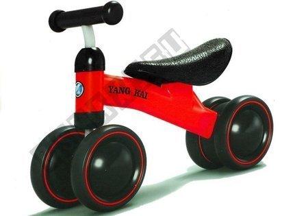 Rower Biegowy Yang Kai Czerwony Dla Dzieci Biegówka