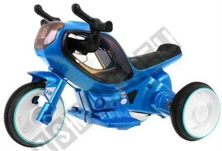 Super motorek Hornet na akumulator niebieski
