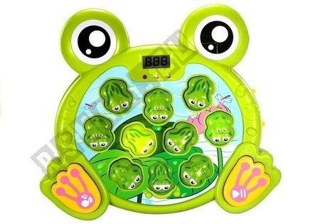 Świecące Żabki z Młoteczkiem Gra Zręcznościowa