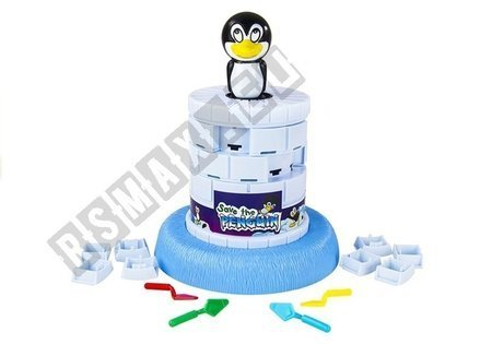 Wesoła Gra Zręcznościowa Skaczący Pingwin