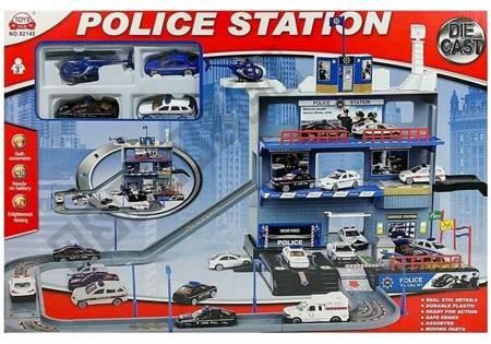 Wielopoziomowy Parking Policyjny z lądowiskiem