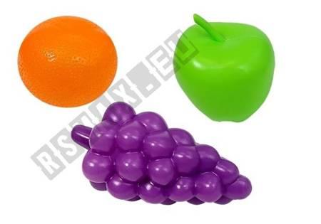 Zabawkowy Mikser Blender Szklanki i Owoce