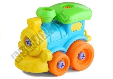 Zestaw 5 Pojazdów Do Rozkręcania + 4 Narzędzia